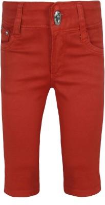 Jazzup Girl's Red Capri