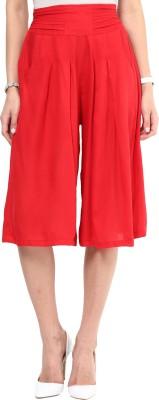 Uptownie Lite Cool Lots Culottes Women's Red Capri