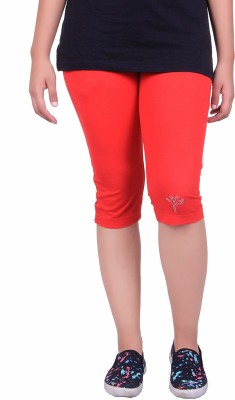 Kally Women's Red Capri