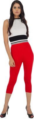 Legrisa Fashion Women's Red Capri