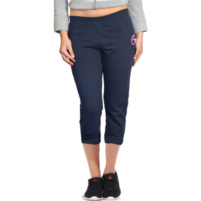 London Eye Women's Blue, Pink Capri