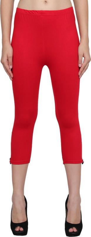 LGC Fashion Women's Red Capri