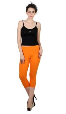 Twin Birds Women's Orange Capri