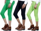 IndiWeaves Women's Green, Black, Green C...