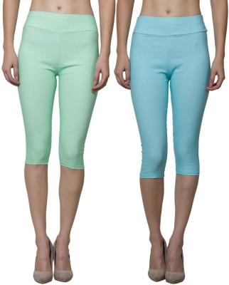 Both11 Women's Blue, Green Capri