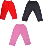 Perky Capri For Girls Solid Cotton (Mult...