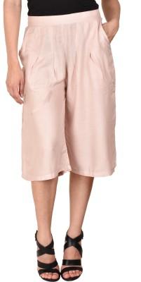 CURVYY Women's Pink Capri