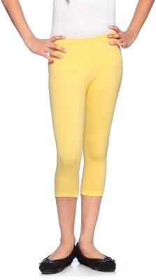 Red Ring Girl's Yellow Capri