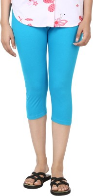 Amanda Solid Women's Blue Running Shorts