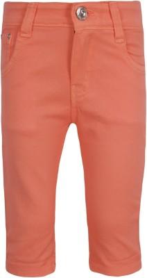 Jazzup Girl's Orange Capri