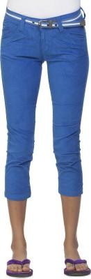 Ixia Women's Blue Capri