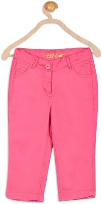 612 League Girl's Pink Capri