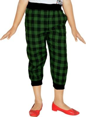Gkidz Girl's Green Capri