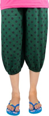 Victory Fashion Women's Dark Green Capri