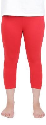 Vami Women's Red Capri