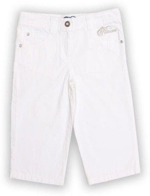 Lilliput Girl's White Capri