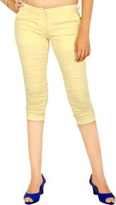 Indiegirl Women's Yellow Capri