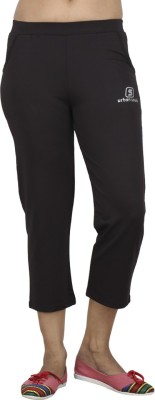Sequeira 2 Front Side Pocket Women's Black Capri