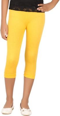 BELONAS Girl's Yellow Capri