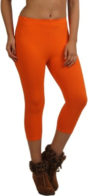 Frenchtrendz Women,s Orange Capri