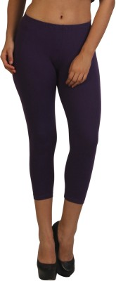 Frenchtrendz Women,s Purple Capri