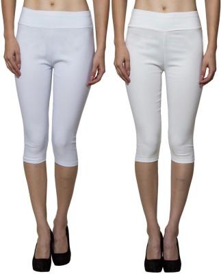 Both11 Women's Beige, White Capri