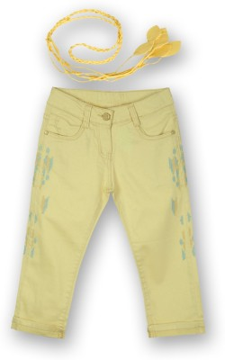 Lilliput Girl's Yellow Capri