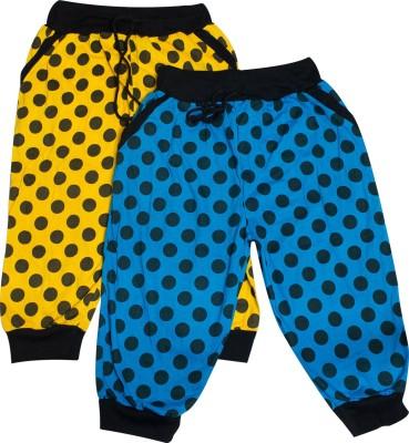 CALCULUS Baby Girl's Blue, Yellow Capri