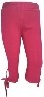 Ever Wear Girl's Pink Capri