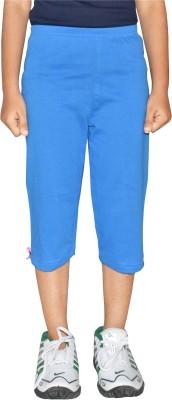 Clever Girl's Blue Capri