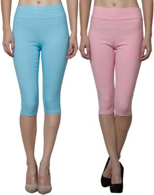 Both11 Women's Pink, Blue Capri