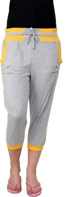 TAB91 Fashion Pro Women's Grey Capri