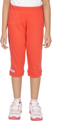 Ocean Race Fashion Girls Orange Capri