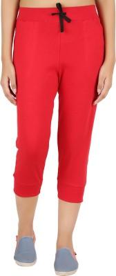Notyetbyus Women's Red Capri