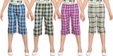 Dongli Capri For Girls Checkered (Multic...