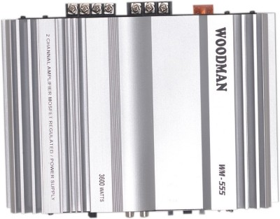 Woodman High Quality 2 Channel Wm-555 Multi Class AB Car Amplifier