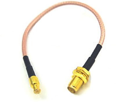 RF Connector House SMA Female BH to MCX Male ST Car Antenna Cable