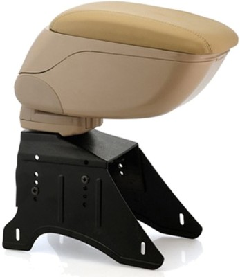 Auto Pearl BARM056 - Premium Quality Beige Console Box Car Armrest Pad Cushion