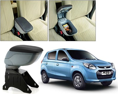Auto Pearl BARM185 - Maruti Suzuki Alto 800 - Premium Quality Grey Console Box For - Car Armrest Pad Cushion