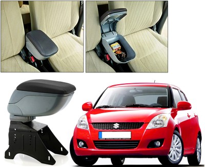 Auto Pearl BARM199 - Maruti Suzuki Swift Type-2 - Premium Quality Grey Console Box For - Car Armrest Pad Cushion