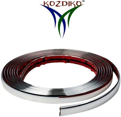 Kozdiko Thick Chrome 15mm 2mtrs TCR 033 Car Beading Roll For Window