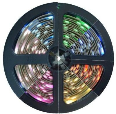 Speedwav 133069 Underbody Cuttable Multicolor LED Car Beading Roll For Window, Bumper
