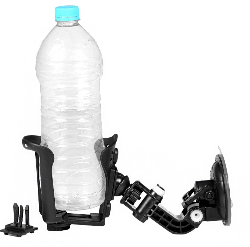 Ultra Fit With Vaccum For Glass Car Bottle Holder(Plastic)