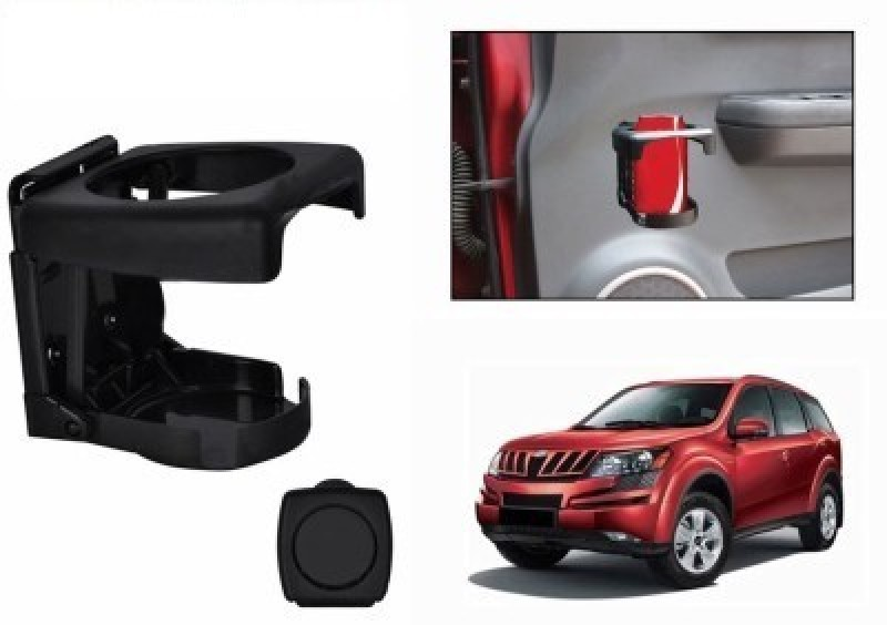 Ultra Fit Foldable Cup / Glass Car Bottle Holder(Plastic)