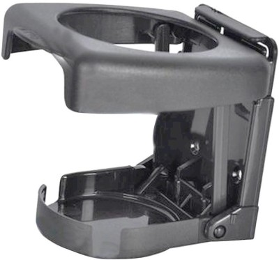 Vheelocityin Foldable Car Drink/Can/Glass Bottle Holder Grey Car Bottle Holder
