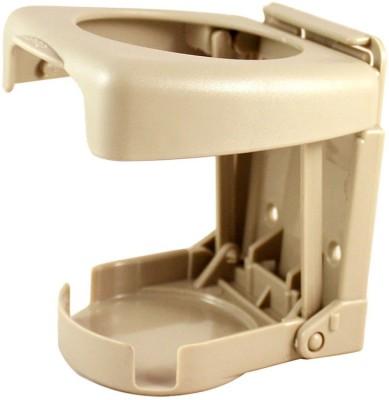 Vheelocityin Foldable Car Drink/Can/Glass Bottle Holder Beige For Chevrolet Tavera Car Bottle Holder