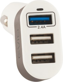 EViO Xcharge 5.1A 3-Port USB Car Charger