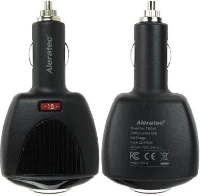 Aleratec-4.8A-Dual-USB-Car-Charger