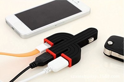 Ustek-Triple-USB-Car-Charger