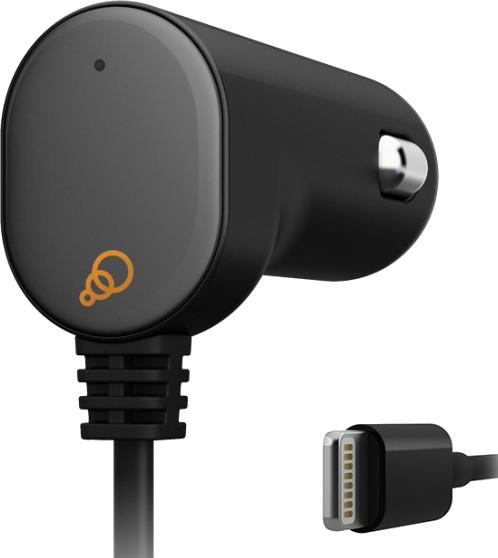Cygnett CY1100PAML2 USB Car Charger(Black)